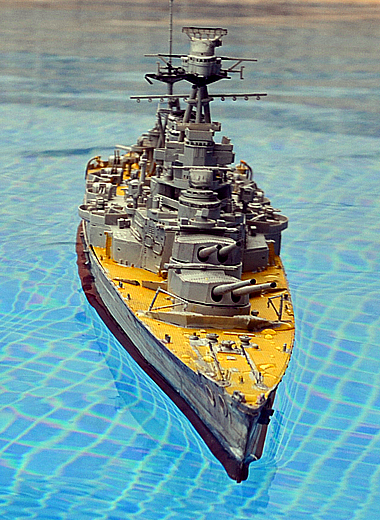 Click to see the video of HMS Hood sailing